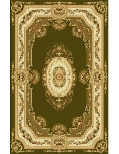 Covor lana verde oliv Bushe 210 5542